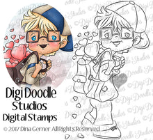 Digi Doodles Milo Digi Stamp Instant Download Digital Stamp