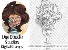 New Mom Digi Doodles Digi Stamp