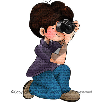 Niko Photographer Digi Doodles Digi Stamp