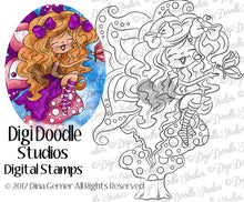 Digi Doodles Nissa Shae Fairy Angel Digi Stamp