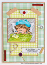 Oliver is Under the Weather Digi Doodles Digi Stamp