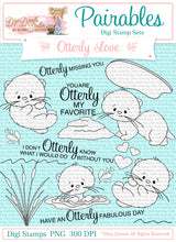 Otterly Love Pairables Digi Doodles Digi Stamp Set
