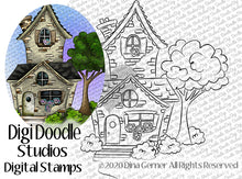 Our New Home Digi Doodles Digi Stamp
