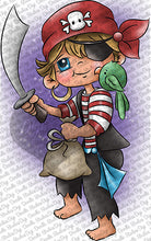 Pauly Pirate Digi Doodles Digi Stamp