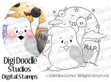 Phanty & Friends Digi Doodles Digi Stamp