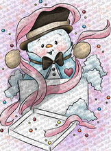 Snowman Surprise Digi Doodles Digi Stamps