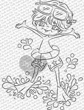 Splashin Ryan Digi Stamp