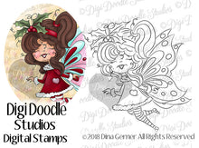 Starling Moonglow Fairy Digi Stamp