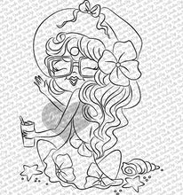 Stormi Vega Beach Girl Digi Stamp