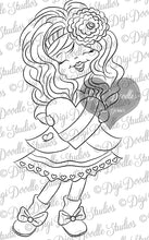 Digi Doodles Sweet Carlina Digi Stamp
