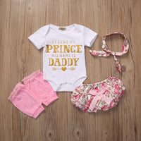 """I Found My Prince"" Summer Romper Suit"