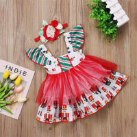 Princess Sleeveless Party Tutu Dress