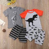 Baby Dinosaur Summer Clothes Set
