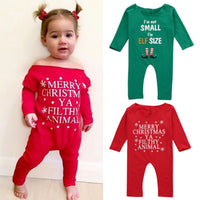 Baby Boy & Girl Christmas Romper Suit