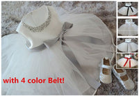 Bow-Knot Baby Girl Pearl Ball Gown
