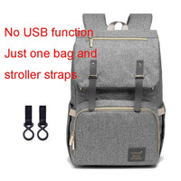 Waterproof Baby Diaper Backpack with USB Port