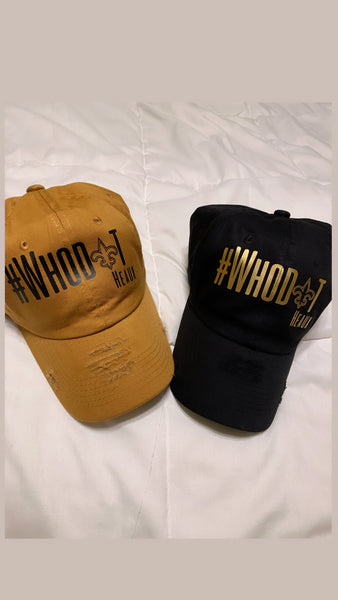 WhoDat Heaux Dad hat