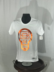 Aluminum Collection White TShirt #Orange