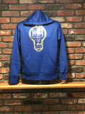 BBNYC Aluminum Collection Royal Blue & Silver Hoodie