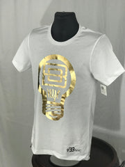 Aluminum Collection White TShirt #Gold