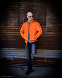 Orange Bomber / Flight Jacket