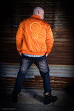 Orange Bomber Flight Jacket