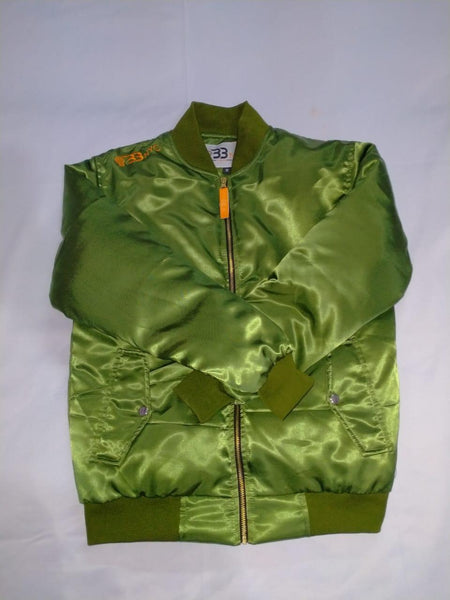 Olive Green Bomber / Flight Jacket