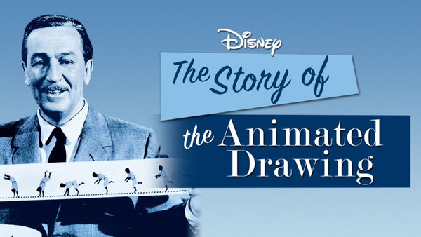 the story of the animated drawing on disney+