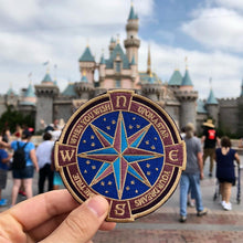 Walt's Compass Patch - Of Mouse & Man Brand