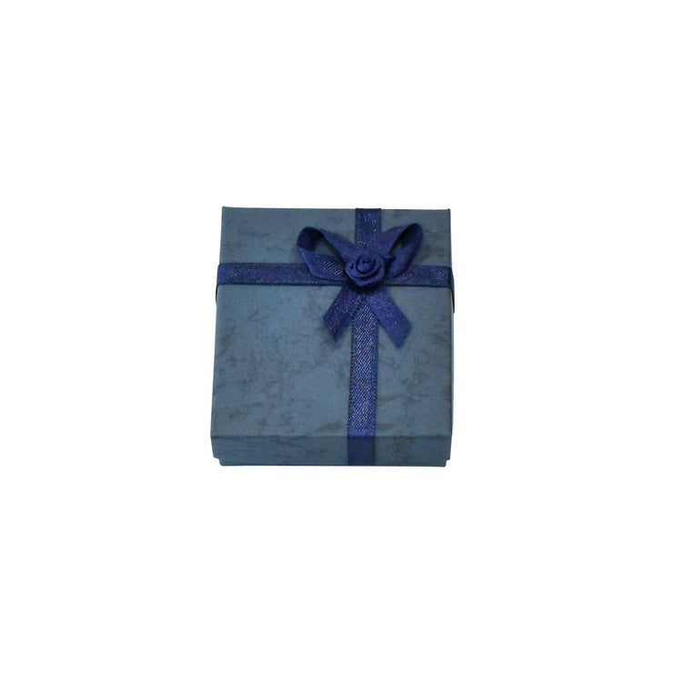 Blue Paper Earring/Necklace Gift Box