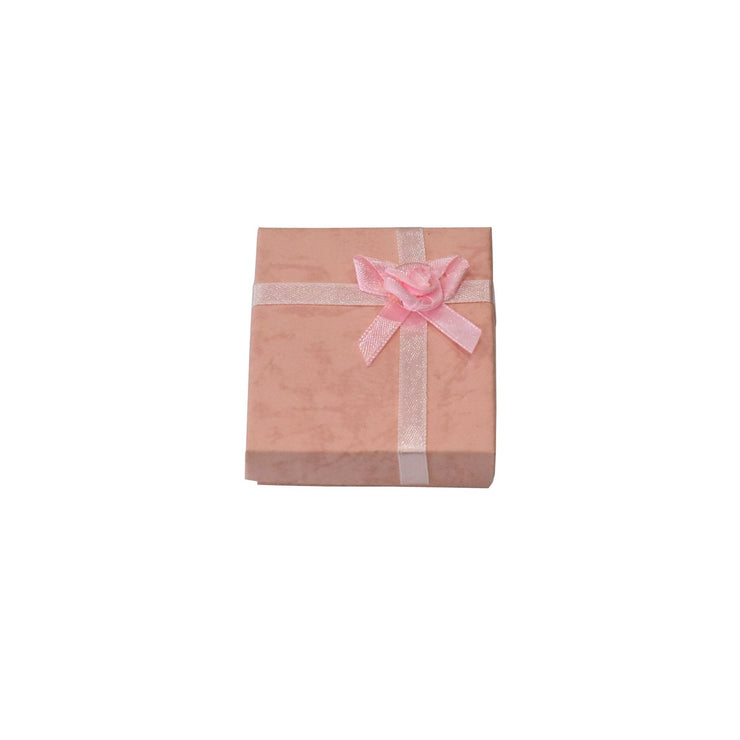 Pink Paper Earring/Necklace Gift Box