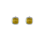 Sterling Silver Citrine Fashion Earrings