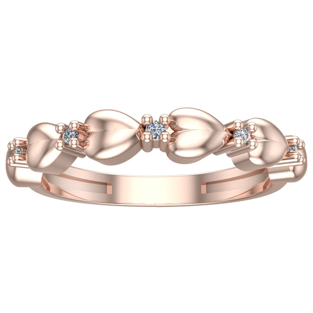 Heart Band Ring