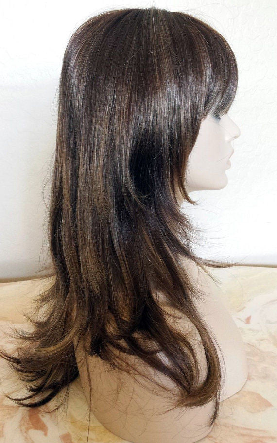 Forever Young Fashion Note Wig Color 81224bhl Long Flip Bangs