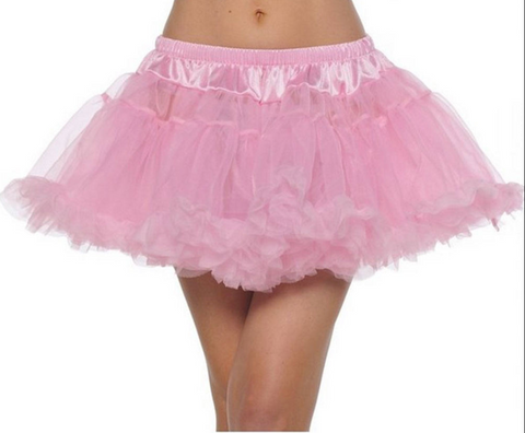 Mini Chiffon Costume Petticoat Skirt by BellaSous 410 - Malco Modes / BellaSous Brands