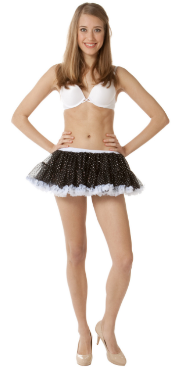 Sparkly Costume Petticoat by BellaSous  411 - Malco Modes / BellaSous Brands
