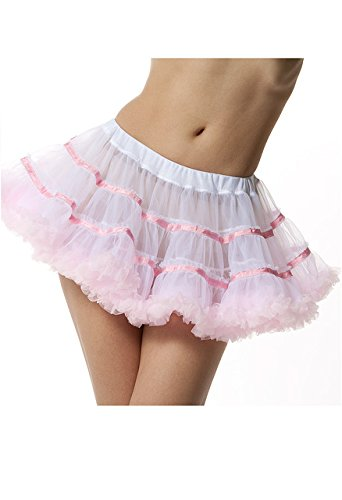 BellaSous Layered Striped Tutu Skirt Style 441 - Malco Modes / BellaSous Brands