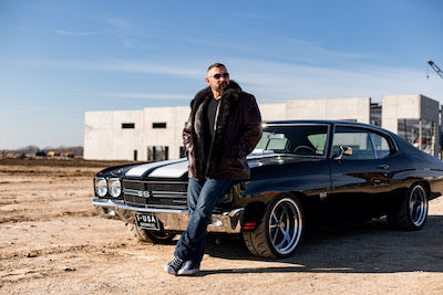 Andy and his Chevelle