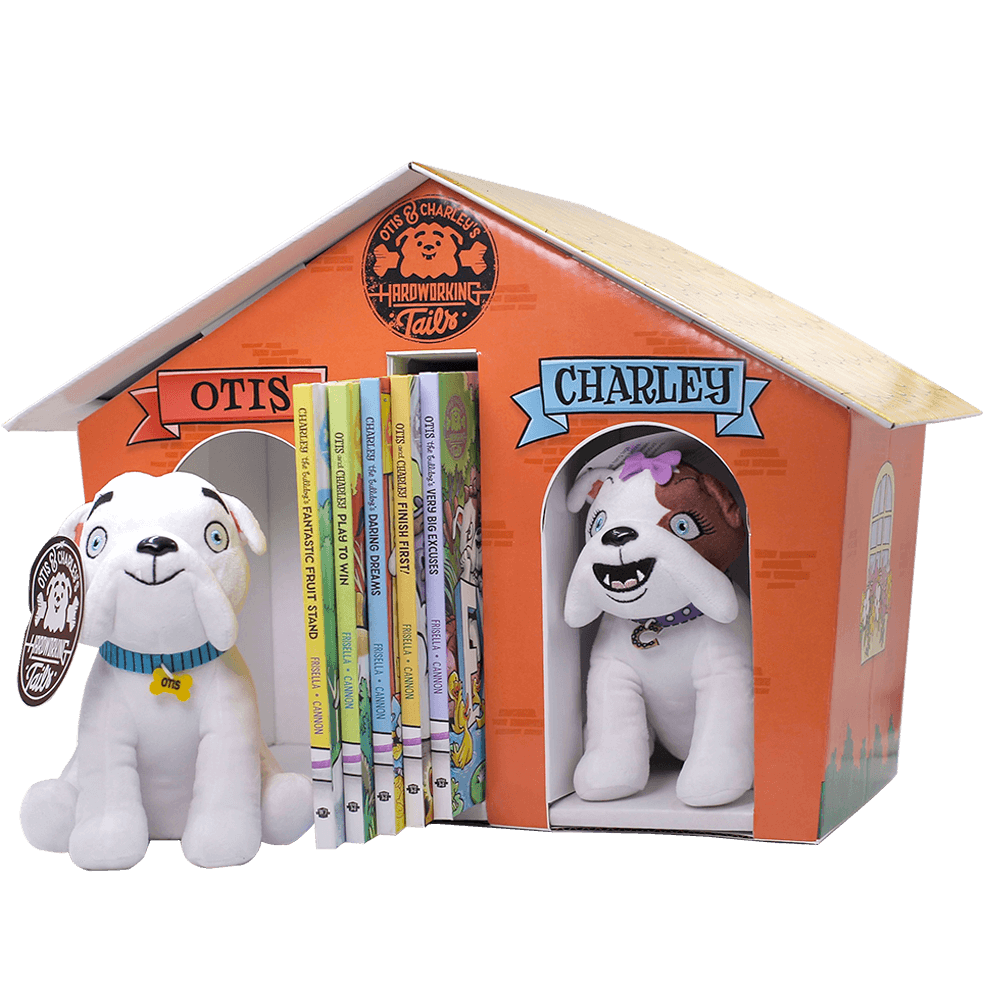 Otis & Charley's Hardworking Tails Limited Edition Boxed Set