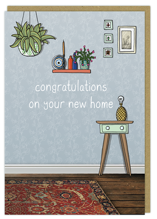 Quirky new home greeting card all the best cards atb025 new home m4hsunfo