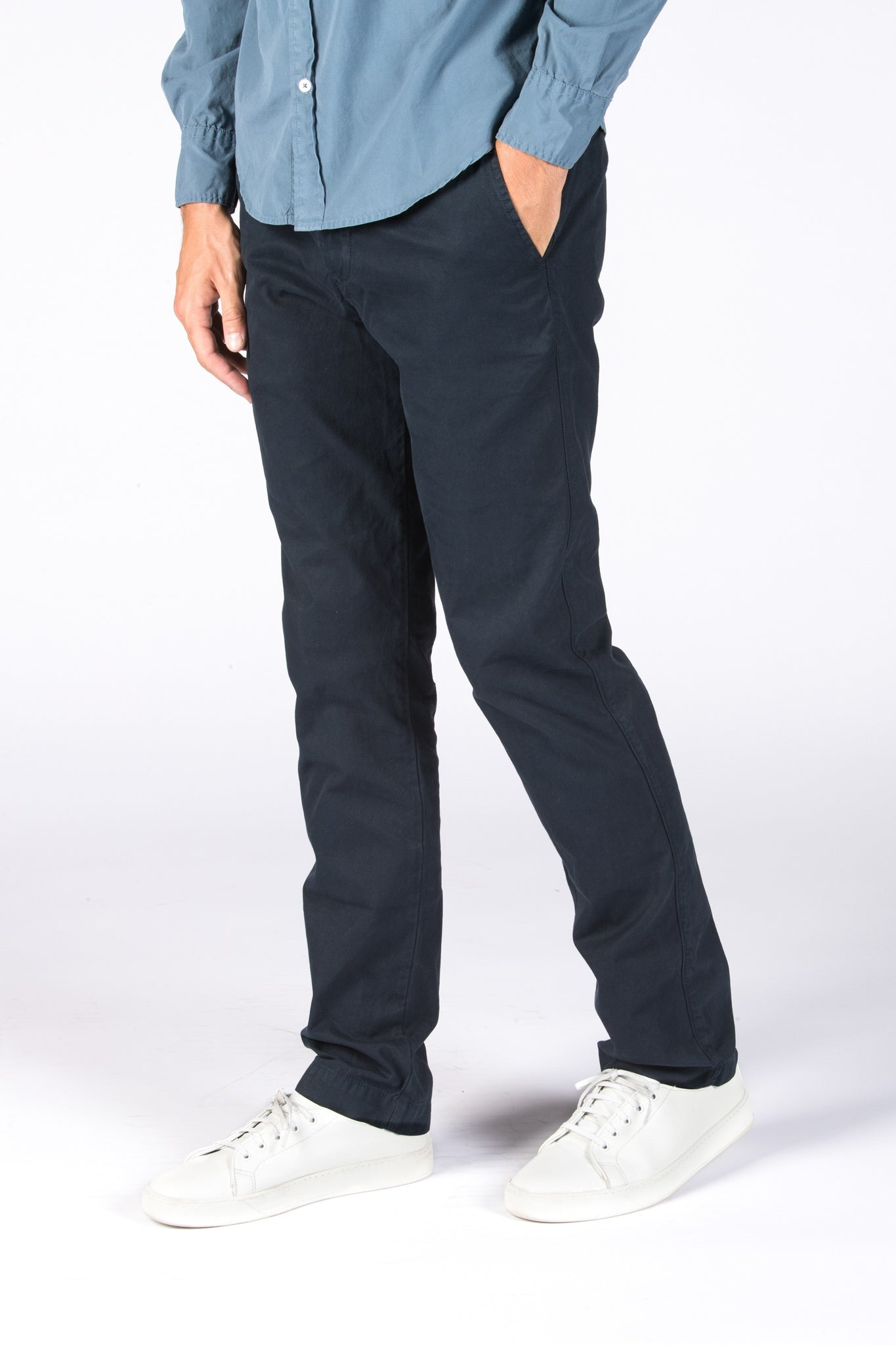 Save Khaki United Light Twill Trouser - Navy