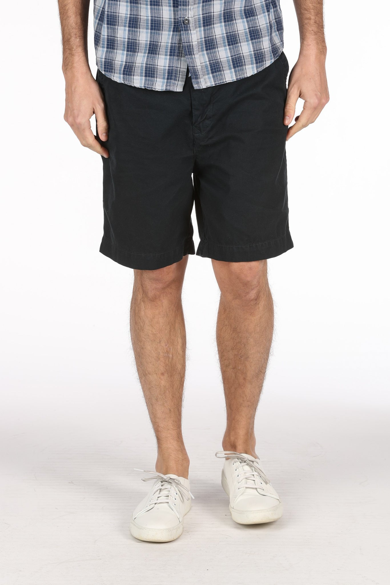 Save Khaki United Twill Weekend Short - Navy