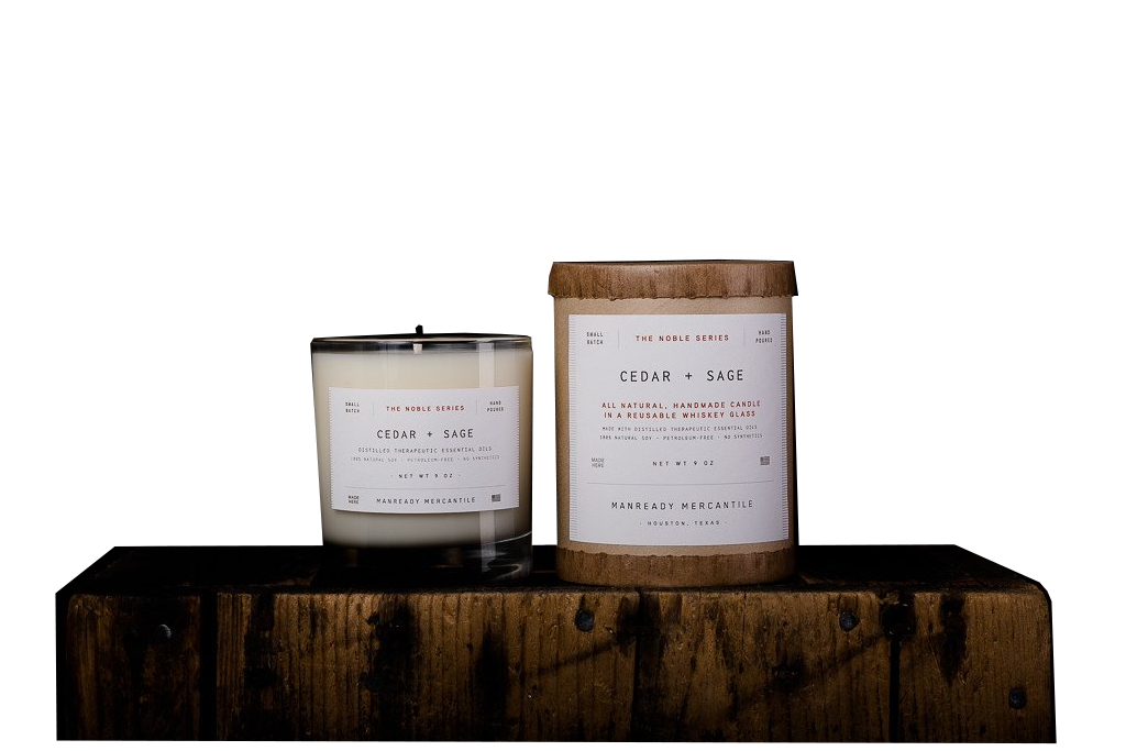 Manready Merchantile Noble Series Soy Candle