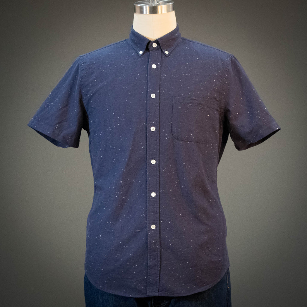 Portuguese Flannel Blur Short Sleeve Shirt