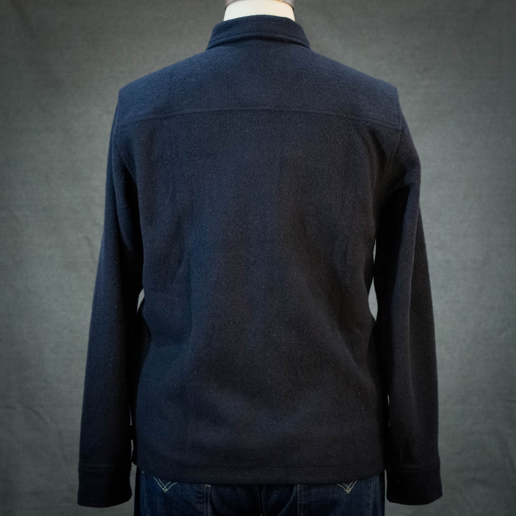 Topo Designs Wool Shirt Navy