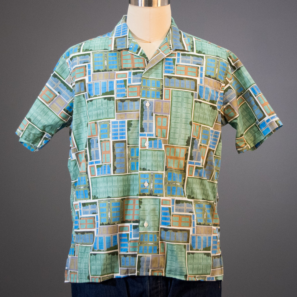 Gitman Vintage Overdye Courts Camp Shirt