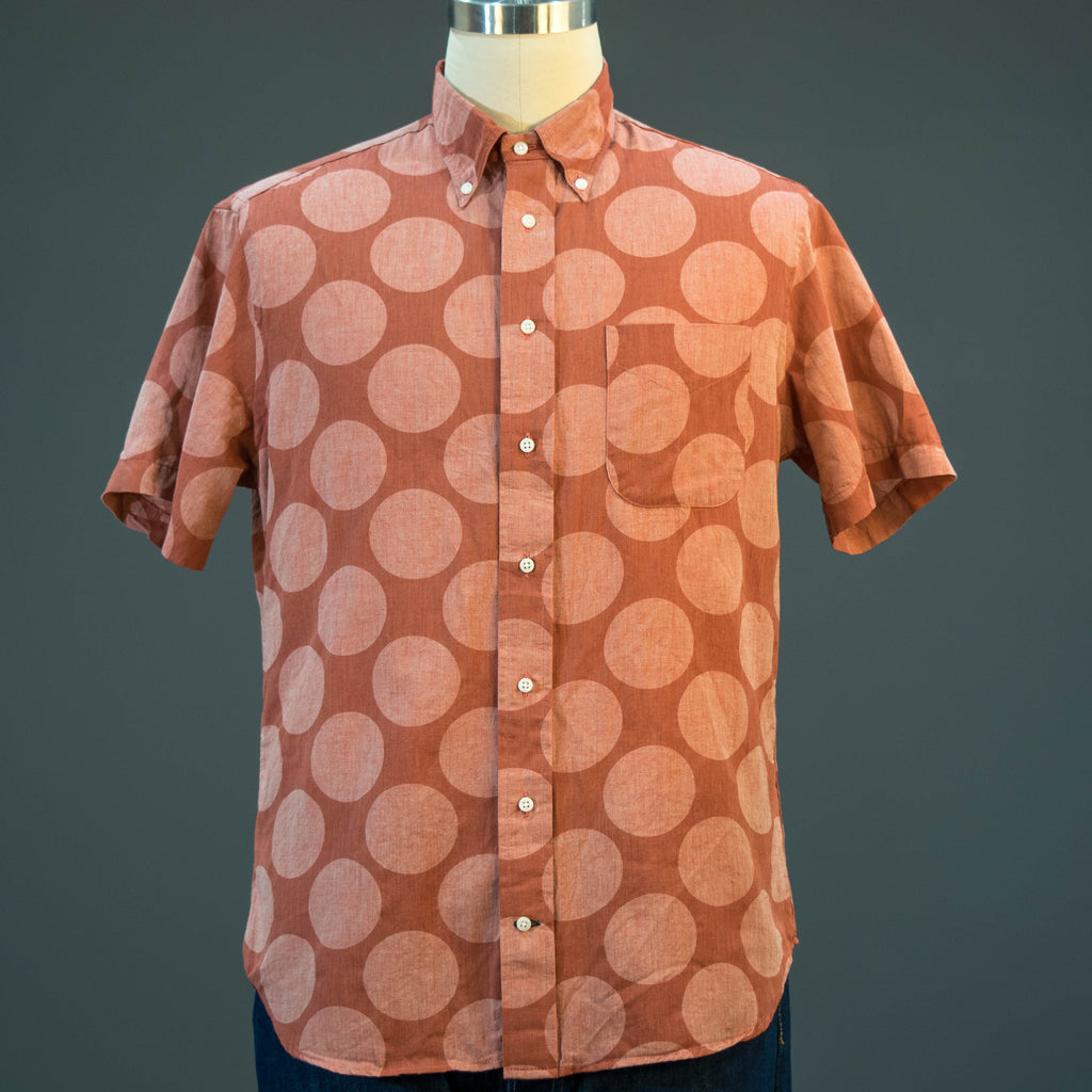 Gitman Vintage Brick Dot Short Sleeve Shirt