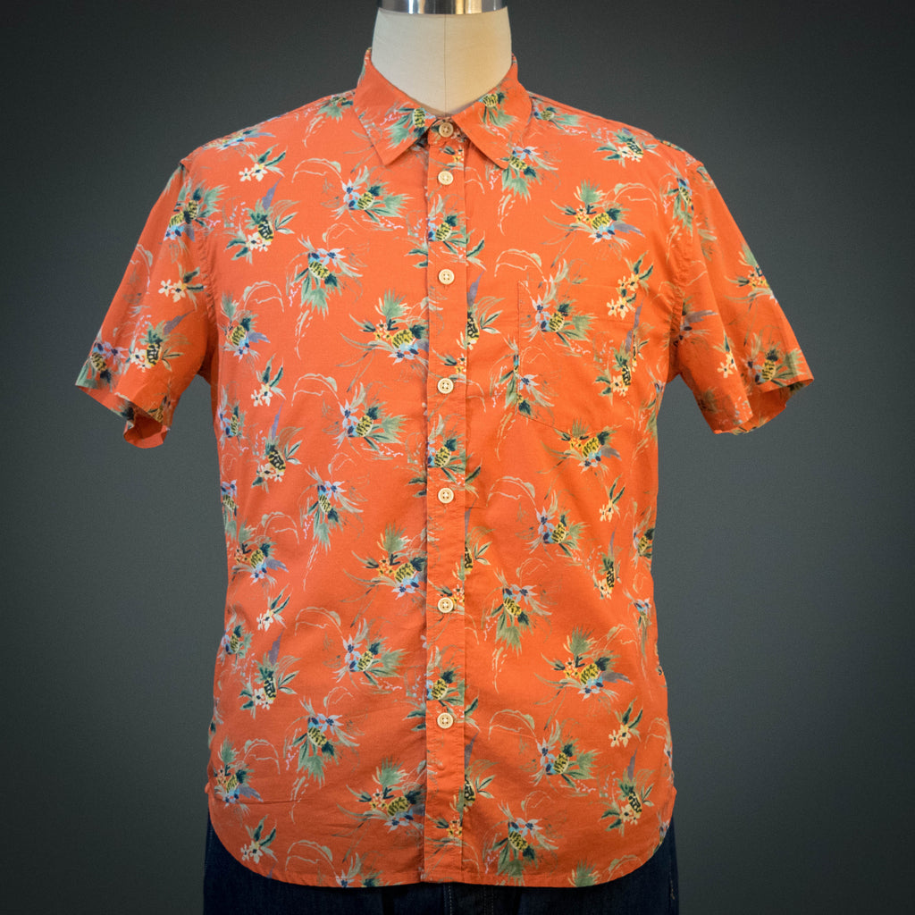 Corridor Tart Ruby Hawaiian Short Sleeve Shirt
