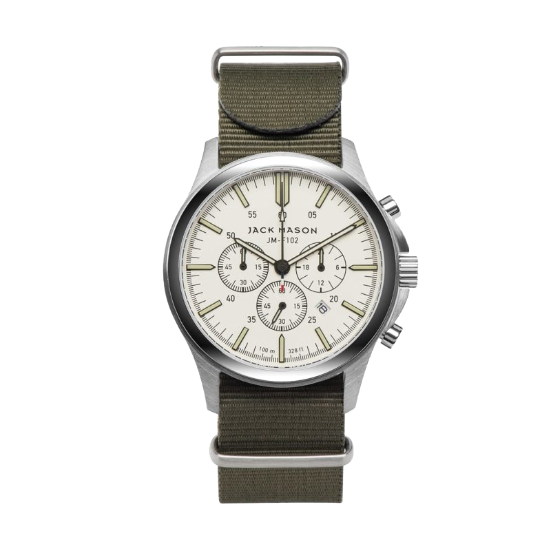 Jack Mason Field Chronograph 42mm