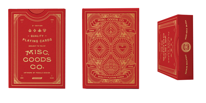 Misc. Goods Company Playing Cards